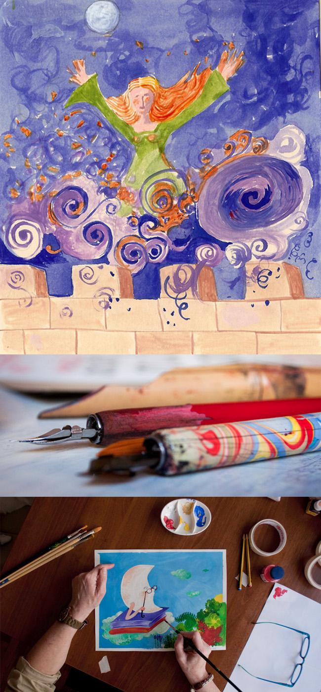 Ilustración y herramientas de Valle Camacho