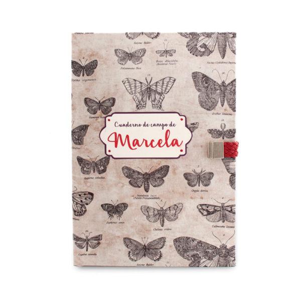 cuaderno de campo de Marcela