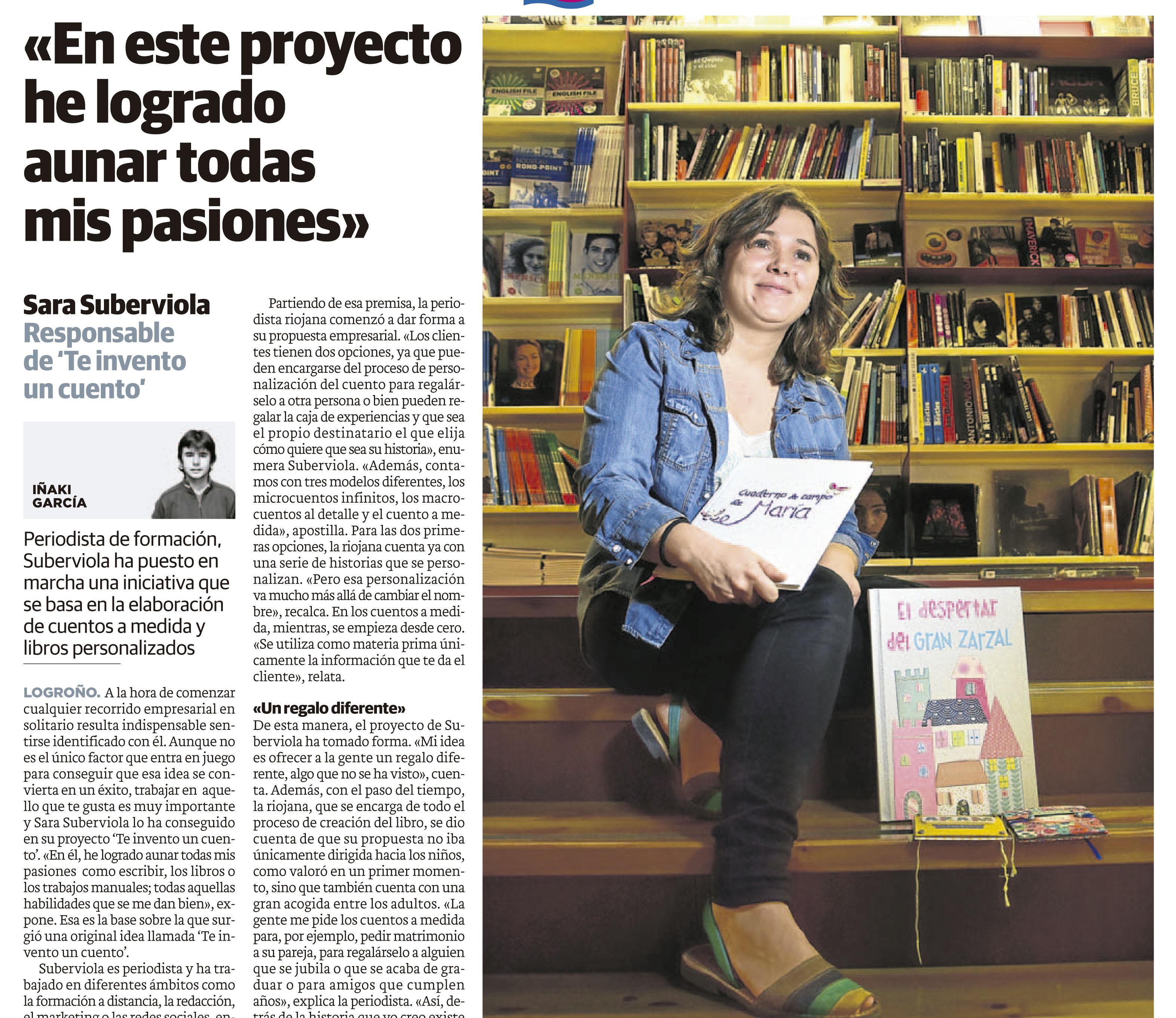 Sara Suberviola escritora y formadora de escritores