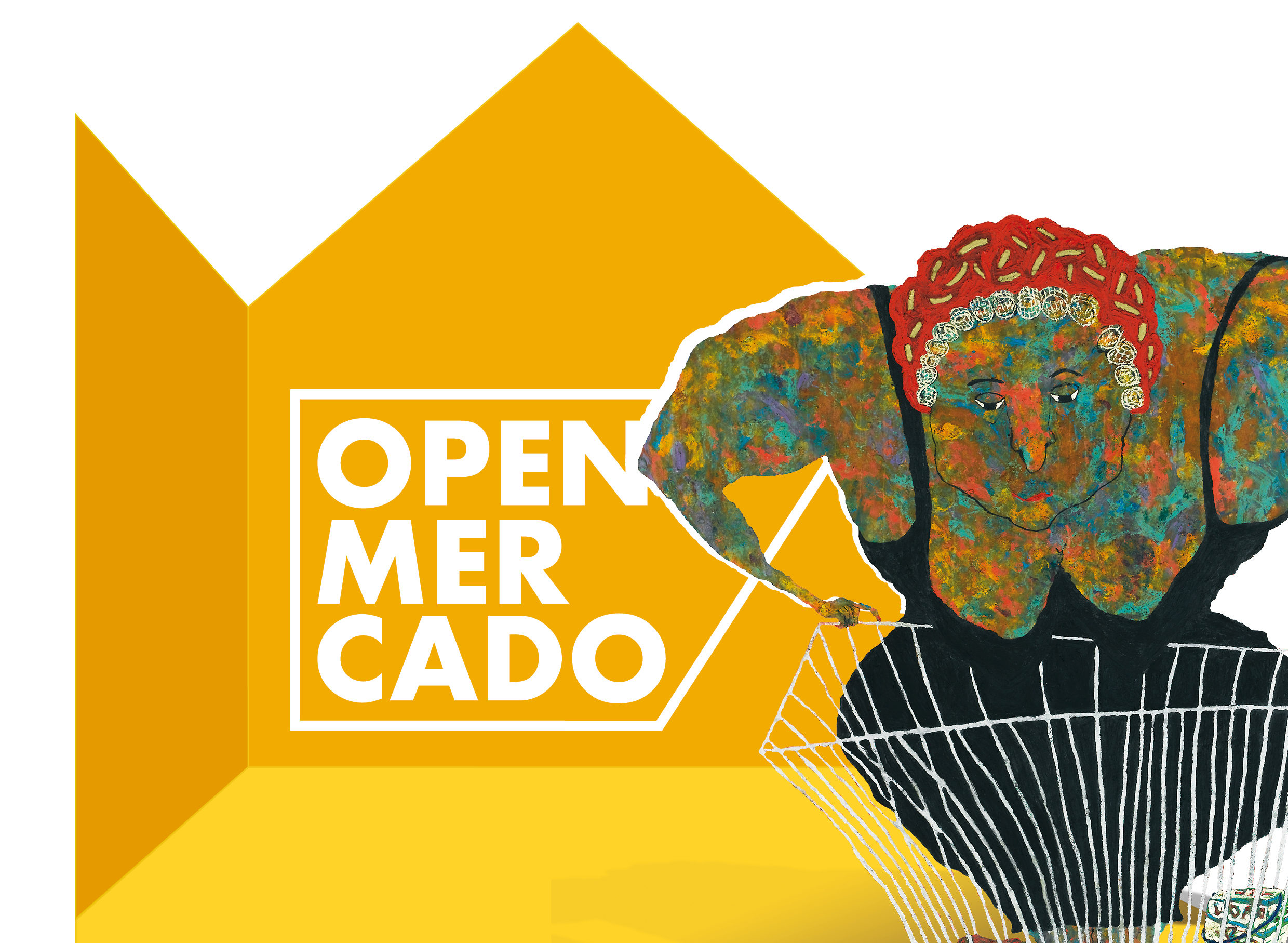 Cartel V Open mercado museo Würth