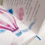 cuento personalizado para bebés que cuenta la historia de amor de sus papás