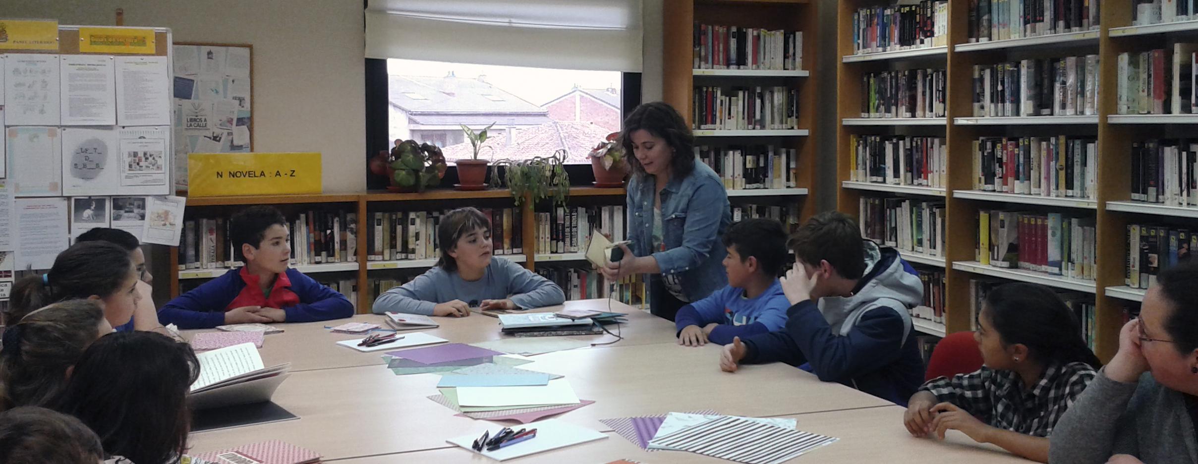 personalizando cuentos con alumnos de primaria