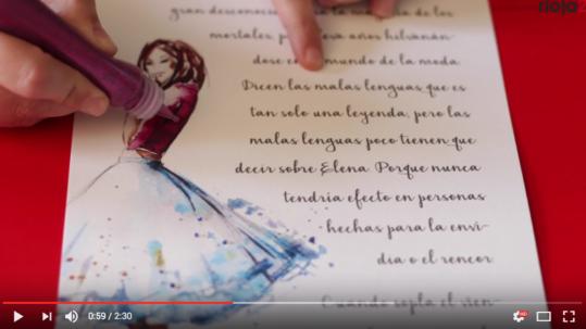 Vídeo de cuentos personalizados