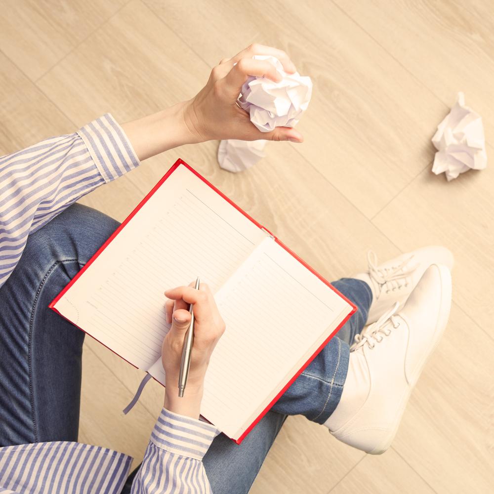 cómo enfrentarse al papel en blanco curso de escritura