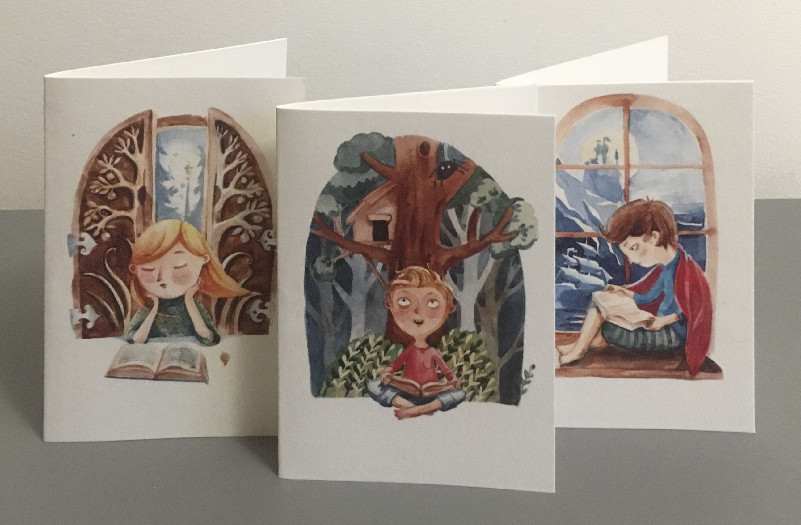 imprimibles para inspirar la lectura, tarjetas para regalar
