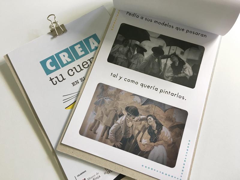 actividad creativa para familias 'Crea tu cuento en el museo'