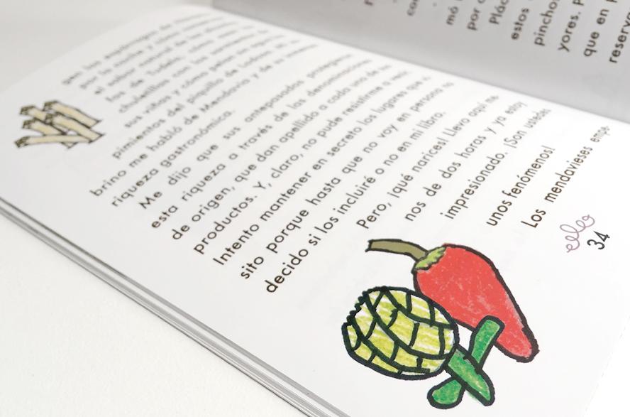 cuento infantil sobre la gastronomía de mendavia, navarra
