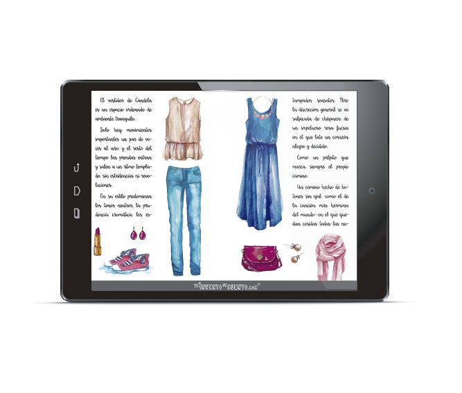cuento personalizado moda ropa estilo