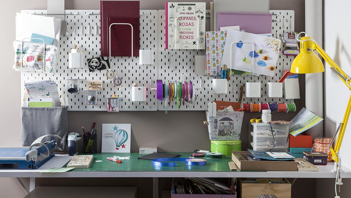 espacio de trabajo artesanal de Te invento un cuento